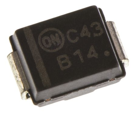 ON Semi 40V 1A, Schottky Diode, 2-Pin DO-214AA MBRS140T3G