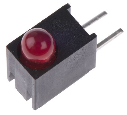 Dialight 551-0407F, Red Right Angle PCB LED Indicator, Through Hole 2 V