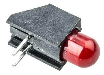Dialight 550-2407F, Red Right Angle PCB LED Indicator, Through Hole 2.5 V