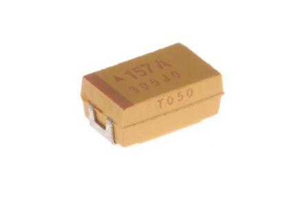 AVX 150μF 10V dc Tantalum Capacitor MnO2 Solid ±10% Tolerance TPS Series