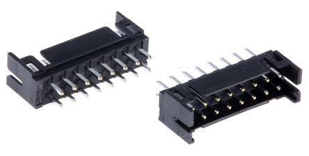 Hirose DF11, 16 Way, 2 Row, Straight PCB Header