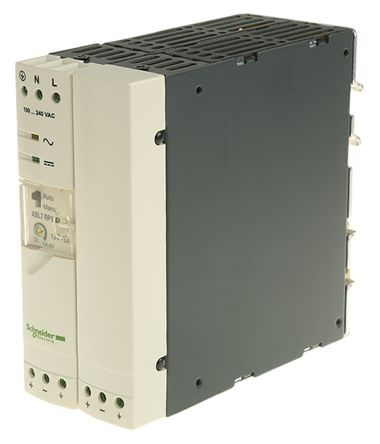 Phaseo Switch Mode DIN Rail Panel Mount Power Supply, 60W, 12V dc/ 5A