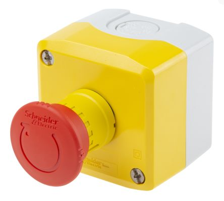 Emergency Stop Push Buttons   RS Components
