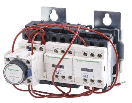 lc3d32ap7 schneider electric 30 kw 3p star delta starter 230 v ac rh uk rs online com  schneider star delta starter wiring diagram