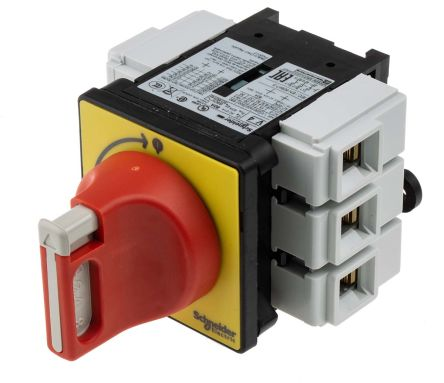 Vcf4 3 Pole Panel Mount Non Fused Isolator Switch 80 A