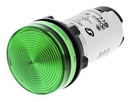DIN Rail Pilot Indicator LED Light Block Green