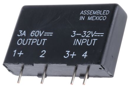 Broadcom 25 A Solid State Relay PCB Mount MOSFET 60 V Maximum