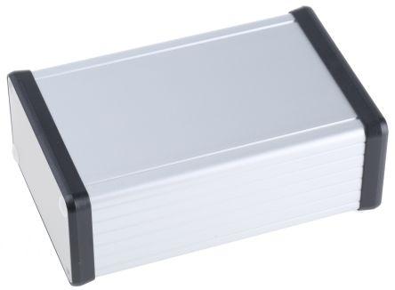 IP54 Handheld Enclosure, Extruded Aluminium, Unpainted, 120 x 78 x 43mm