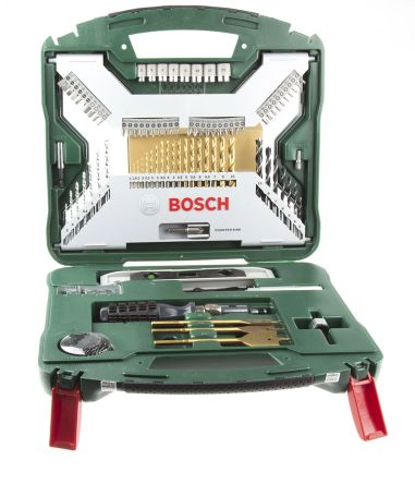 Genoeg 2 607 019 330 | Bosch HSS 1mm to 32mm, 100 piece X-Line Mixed IO76