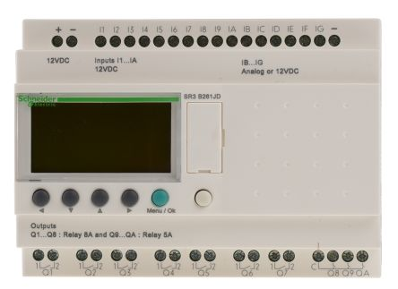 Schneider electric zelio logic logic module 12 v dc 16 x input 10 main product asfbconference2016 Images