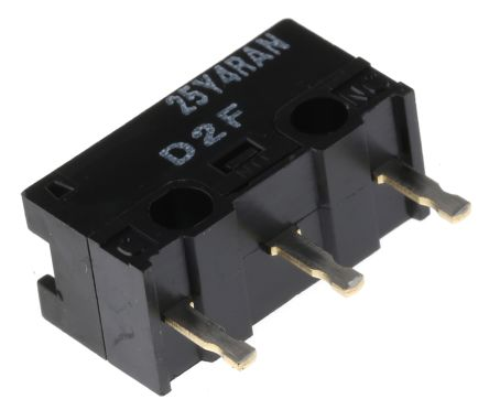 SPDT-NO/NC Pin Plunger Subminiature Micro Switch, 3 A @ 125 V ac