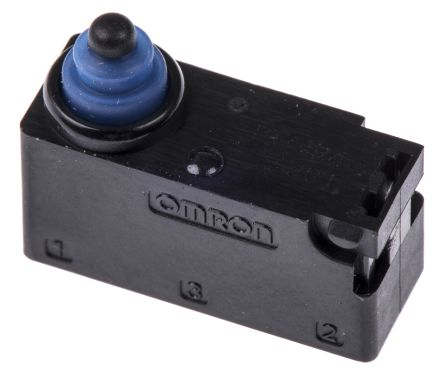 SPDT-NO/NC Pin Plunger Microswitch, 2 A @ 12 V dc