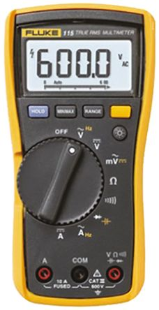 fluke 115 eur fluke 115 digital multimeter handheld 10a ac 600v rh uk rs online com fluke 115 multimeter manual pdf fluke 115 manual download