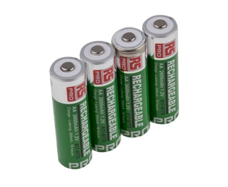 rs pro nimh rechargeable aa batteries 2600mah rs components rh uk rs online com