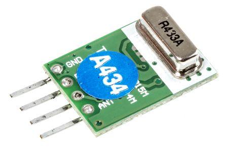 Quasar RF Transmitter QAM-TX1 433.92 MHz, AM, 1.5 → 5V