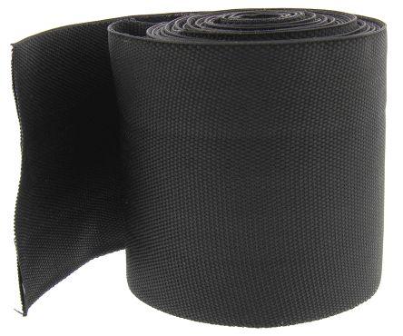 TE Connectivity Black Halogen Free 2:1, Heat Shrink Tubing 70mm Sleeve Dia. x 5m Length , HFT5000 Series