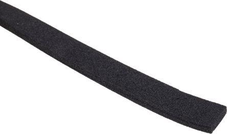 RS PRO Black Foam Tape, 3mm Thick , 10mm x 10m