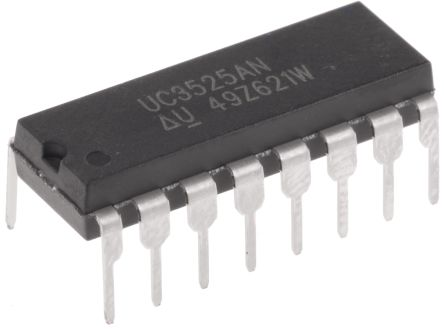 Texas Instruments UC3525AN, Dual PWM Voltage Mode Controller, 400 mA, 400 kHz 16-Pin, PDIP