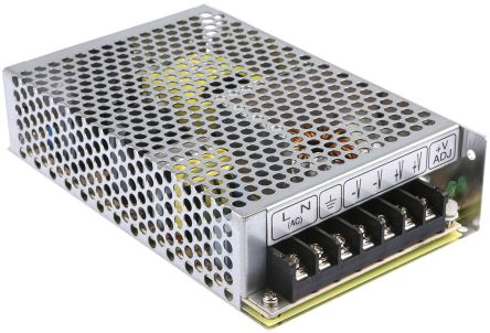Mean Well 108W Embedded Switch Mode Power Supply SMPS, 4.5A, 24V dc