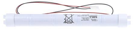 Batterie Per Lampade Di Emergenza Ova.Batterie Ricaricabili D Saft Nicd 4000mah 6v 5 Celle Terminale Cavo