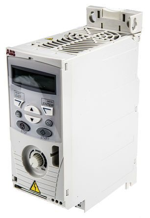 ABB ACS150 Inverter Drive 0.75 kW with EMC Filter, 3-Phase In, 380 → 480 V, 2.4 A, 500Hz Out, IP20