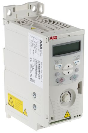 ABB ACS150 Inverter Drive 0.37 kW with EMC Filter, 3-Phase In, 380 → 480 V, 1.2 A, 500Hz Out, IP20