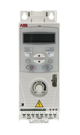ABB ACS150 Inverter Drive 1.5 kW with EMC Filter, 3-Phase In, 380 → 480 V, 4.1 A, 500Hz Out, IP20