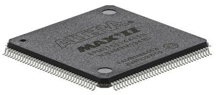 Altera EPM570T144C5N, CPLD MAX II Flash 440 Cells, 116 I/O, 57 Labs, ISP, 144-Pin TQFP