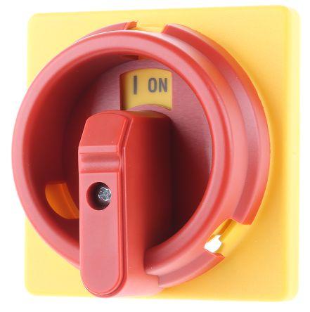 Camswitch handle padlockable 3 locks R/Y