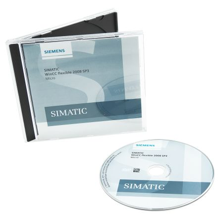 Siemens PLC Programming Software WINCC FLEXIBLE 2008 Micro for use with  SIMATIC S7-200, For Various Operating Systems