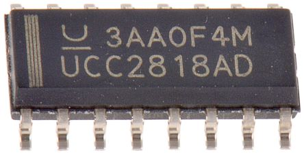 UCC2818AD, Power Factor Correction, 115 kHz, 18 V 16-Pin, SOIC product photo
