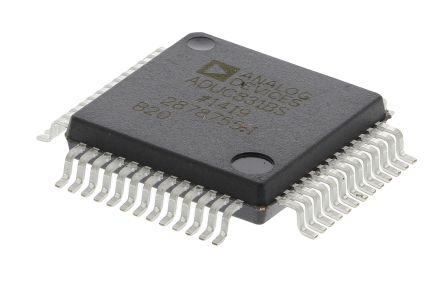 Analog Devices ADUC831BSZ, 8bit 8052 Microcontroller, 16MHz, 4 kB, 62 kB Flash, 52-Pin MQFP