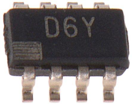 Analog Devices AD5450YUJZ, 8 bit Serial DAC, 2.7Msps, 8-Pin TSOT