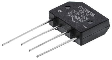2KBP08M-E4/51, Bridge Rectifier, 2A 800V, 4-Pin KBPM product photo