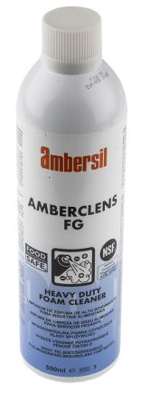 Ambersil 500 ml Aerosol Multi-purpose Cleaner,Food Safe for Degreasing, Fabrics, Parts Cleaning, Surfaces, Tools