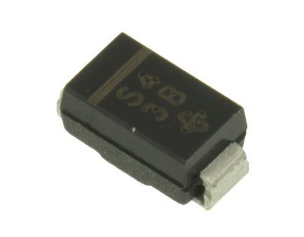 Vishay 40V 1A, Schottky Diode, 2-Pin DO-214AC SS14-E3/61T