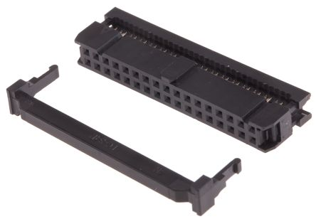 RS 40-Way IDC Connector Socket for Cable Mount, 2-Row