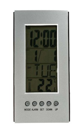RS PRO Digital Thermometer, 1 Input LCD
