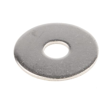 Plain Stainless Steel Mudguard Washer, M8 x 30mm, 1.5mm Thickness