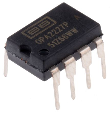 Texas Instruments OPA2227P Op Amp 8 MHz 8-Pin Pdip