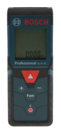 GLM 40 Laser Measure, 0.05 -> 40 m Range, ±1.5 mm Accuracy product photo