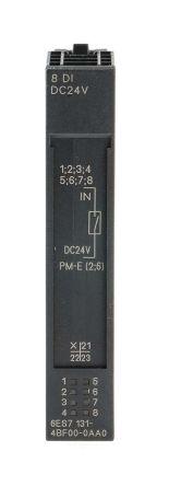 Siemens SIMATIC ET 200S PLC I/O Module 8 Inputs, 24 V dc, 81 x 15 x 52 mm