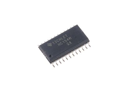 Texas Instruments CD74HC154M96, 1 Decoder & Demultiplexer, Decoder, Demultiplexer, 1-of-16, Inverting, 24-Pin SOIC