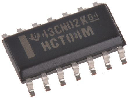 Texas Instruments CD74HCT04M, Hex CMOS Inverter, 14-Pin SOIC