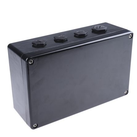 Scame ATEX Junction Box, IP66, 260mm x 160mm x 90mm