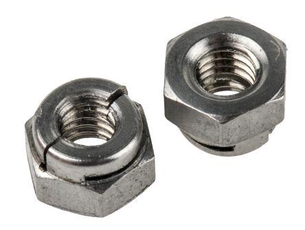 Self Locking Nut >> Rs Pro M4 7mm Plain Aerotight Lock Nut