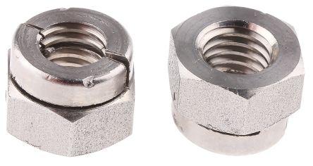 Self Locking Nut >> Rs Pro M8 13mm Plain Aerotight Lock Nut