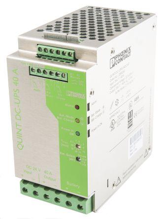 Phoenix Contact Quint DC UPS Uninterruptible Power Supply, 24V dc Output,  42 5A