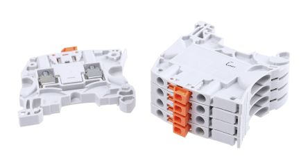 Entrelec, SNK Series , 400 V ac Disconnect Terminal Block, Screw Termination