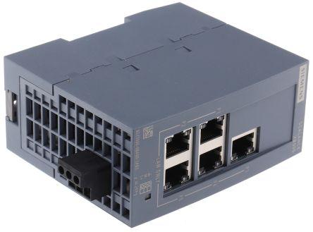 Siemens 6GK5-005-0BA00-1AB2 Scalance XB005 Industrial Ethernet Switch  USED